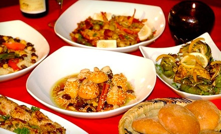 Family-Style Five-Course Moroccan Meal for Two or Four at Imperial Fez (Up to 56% Off)