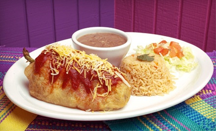 $10 for $20 Worth of Mexican Food at La Mixteca