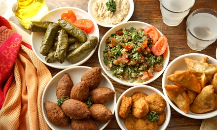 $65 for $100 Worth of Lebanese Cuisine and Drinks at Byblos Restaurant. Groupon Reservation Required.