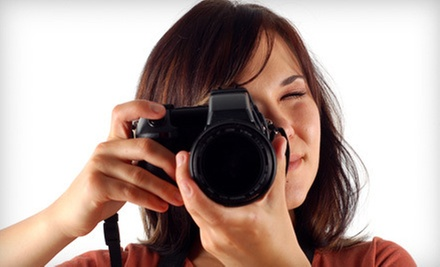 Three-Hour Basic Digital-Photography Class for One or Two and Intro to Photoshop DVD from Legacy Studios (Up to 87% Off)