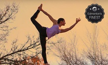 Five Yoga Classes or One Month of Unlimited Yoga Classes at Noorish (Up to 65% Off)