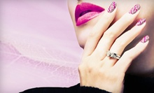 One or Two Mani-Pedis or One Gel Manicure at FlyGirls Nail Art (Up to 54% Off)