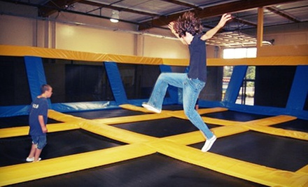 Two Hours of Trampoline Jump Time for Two or Four at Great Jump Sports (Up to 55% Off)