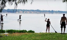 Standup-Paddleboarding Package for One, Two, or Four with Instruction from DFW Surf in Grapevine (Up to 65% Off)