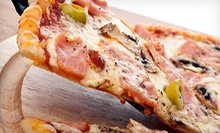$16 for Two Large Three-Topping Pizzas and Four Cans of Pop at Al's Pizzeria ($35.48 Value)