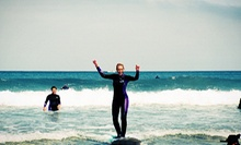 Three-Hour Beginners' Surfing Lesson for One or Two with Gear from Adventure Out (Up to Half Off)