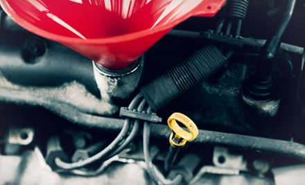 One or Three Oil Changes and Inspections at Alan Cox Automotive (Up to 55% Off)