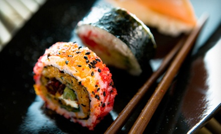 Sushi and Drinks for Two or Four at Infuzon (Up to 52% Off)