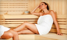 5 or 10 Infrared-Sauna Sessions at Hot Shots Sun Studio (Up to 74% Off)