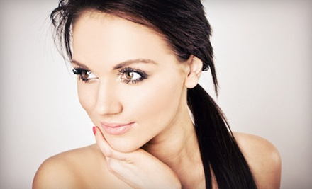 $29 for Cosmetics Instruction with an Eyebrow Shaping at Sky Lounge Skin Care ($90 Value)