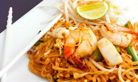 Thai Cuisine and Sushi at Deejai Thai Restaurant (Up to 55% Off). Two Options Available.