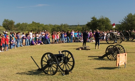 Guided Tour of the Fort Griffin State Historic Site for Three, Four, or Six (Up to 52% Off)