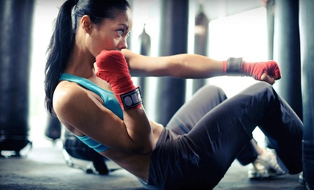 5 or 10 Co-Ed Cage-Fitness Classes at Aim 4 Fitness (Up to 62% Off)