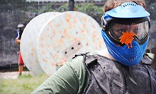 Paintball Outing with Gear Rental, Air, and Paintballs for 2, 4, or 10 at Urban War Zone Paintball (Up to 73% Off)