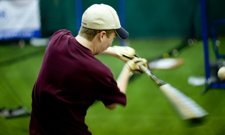 One, Two, or Three Hours of Batting-Cage Time at Raider's Edge (Up to 54% Off)