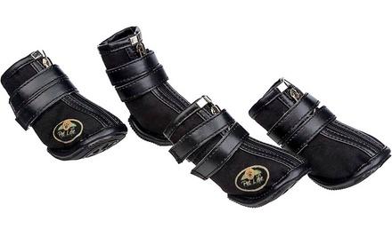 Set of 4 Pet Life Dog Boots