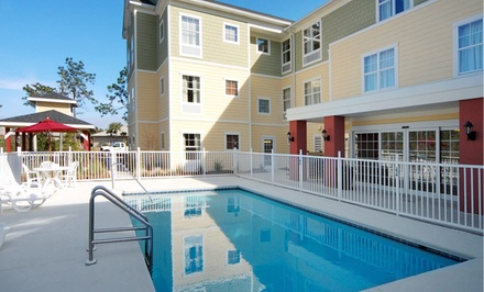 groupon daily deal - Stay at MainStay Suites Port St. Joe in Florida; Dates into February