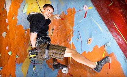 $20 for Two Rock-Climbing Day Passes with Equipment Rental and Gym Access at Stronghold Gym ($40 Value)