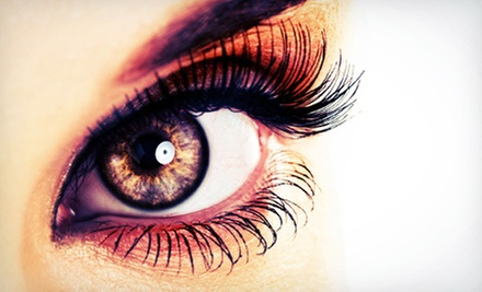 Eyelash Extensions with Optional Touchup or Glitter Eyelash Extensions with Touchup at Lash Out Loud (Up to 62% Off)
