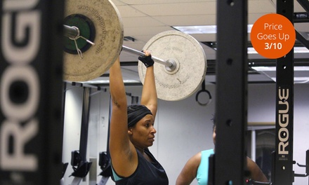 One or Two Months of Unlimited CrossFit Classes at Rainier Health & Fitness (Up to 58% Off)