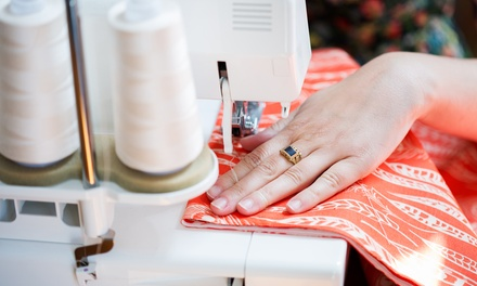 $45 for a Two-Hour Basic Beginner Sewing Lesson for Two at The Atelier Stitch ($90 Value)