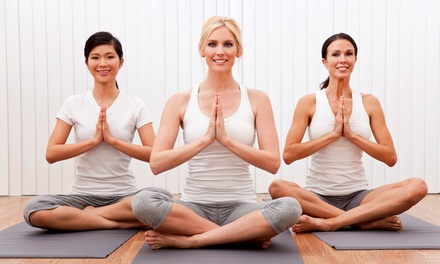 $49 for One Month of Unlimited Yoga Classes at Oxygen Yoga & Fitness (63% Off)