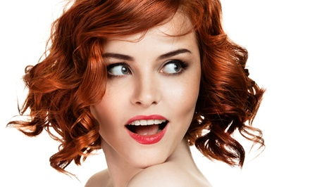 Haircut with Optional Partial Highlights or Full Highlights or Lowlights at Gemmette Hair Studio (Up to 69% Off)