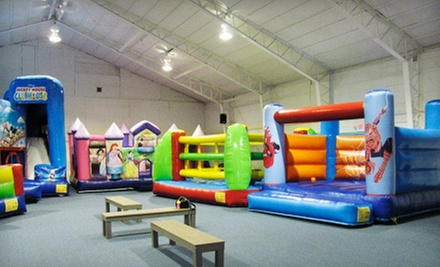 Three or Five Groupons, Each Good for One Open-Play Admission at Bounce! Fun Center (60% Off)