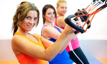 12 Indoor Fitness Classes or One Month of Unlimited Indoor Fitness Classes at Healthy Rhino (Up to 81% Off)
