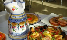 $15 for $30 Worth of Tapas and Spanish Fare for Dinner at Spain Restaurant and Toma Bar