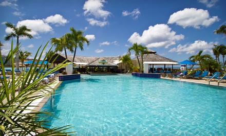 groupon daily deal - 3-, 5-, or 7-Night Stay for up to Six at Royal Palm Beach Resort in St. Maarten