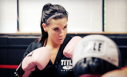 $14 for Two Weeks of Boxing and Kickboxing Classes at Title Boxing Club ($35 Value)
