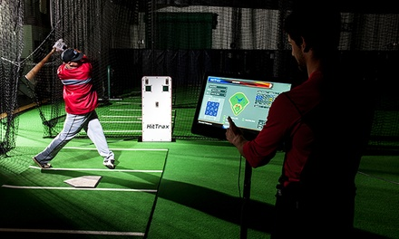 Three or Five Batting Cage Sessions, or Baseball Birthday Party for 12 Kids at Royal Swings (Up to 54% Off)