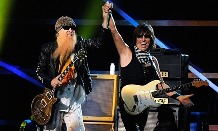 ZZ Top and Jeff Beck at Nikon at Jones Beach Theater on September 4 at 7 p.m. (Up to 62% Off)