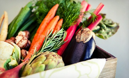 $35 for One Box of Local Organic Produce and a One-Year Membership from Garden Delivered ($70 Value)