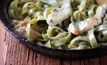 $40 for a Four-Course Italian Dinner for Two at Portobello Restaurant & Bar ($101.60 Value)