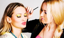 Makeover with Optional Cluster Lashes or Makeover Package with Lashes and Photo Shoot at Sylk Cosmetics (Up to 64% Off)