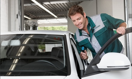 One or Two Groupons, Each Good for an Emissions Test and Inspection at DEKRA Emission Check (Up to 35% Off)