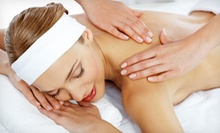 One or Two 60-Minute Swedish Massages at W. Waxing Salon (Up to 63% Off)
