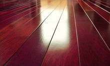 $1,499 for Hardwood-Floor Sanding and Refinishing for 650 Square Feet from Floor Craft Sanding ($3,000 Value)