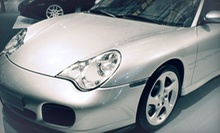 Mini Detail with Wax and Rain-X Treatment or Two Alloy Wheel Repairs at The Detailer (51% Off)