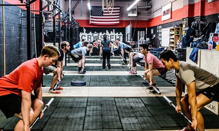 8 Foundations of CrossFit Classes and a 1- or 3-Month Membership at CrossFit East River (Up to 77% Off)