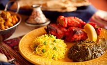 Indian Meal with Appetizer, Entrees, and Drinks for Two or $10 for $20 Worth of Indian Cuisine at LaZeez
