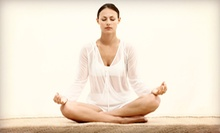 10 or 20 Yoga Classes or One Month of Unlimited Yoga Classes at Krysia Energy Yoga (Up to 71% Off)