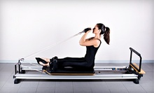 5 or 10 Group Fitness Classes or 3 Pilates Reformer Classes at Body in Balance Yoga and Pilates (Up to 67% Off)