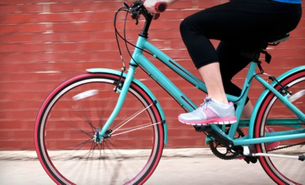 $18 for a Four-Hour Bicycle Rental for One from Cincinnati Bike Center (Up to $30 Value)