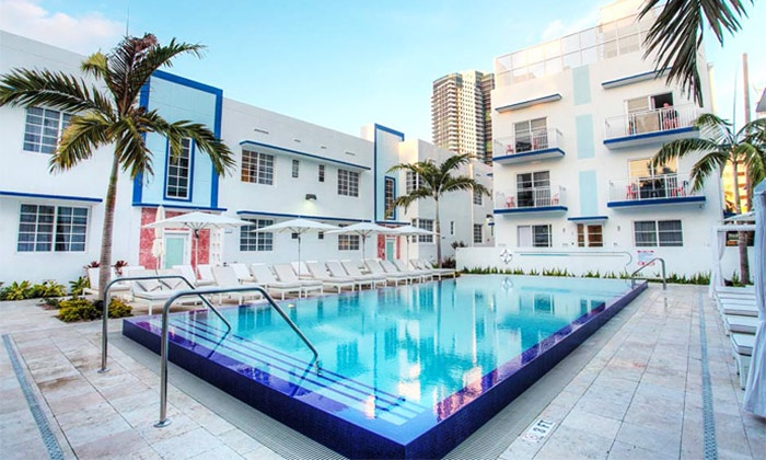 Pestana South Beach Art Deco Hotel 4* — Miami: 5 noites para uma pessoa em hotel 4* com voos e taxas desde 999€