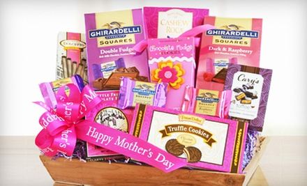 Mother&#x27;s Day Gift Basket with Free Shipping from California Delicious (36% Off). Three Options Available.