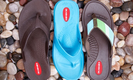 $15 for $30 Worth of Recyclable Sandals from Okabashi