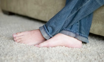 $70 for Carpet Steam Cleaning for Three Rooms from Green Planet Services ($200 Value)